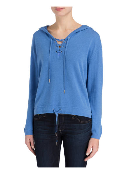 FTC CASHMERE Cashmere-Pullover mit Kapuze
