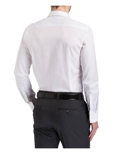 HUGO Hemd ESID Slim-Fit<br>         mit Faltenwurf-Kent-Kragen