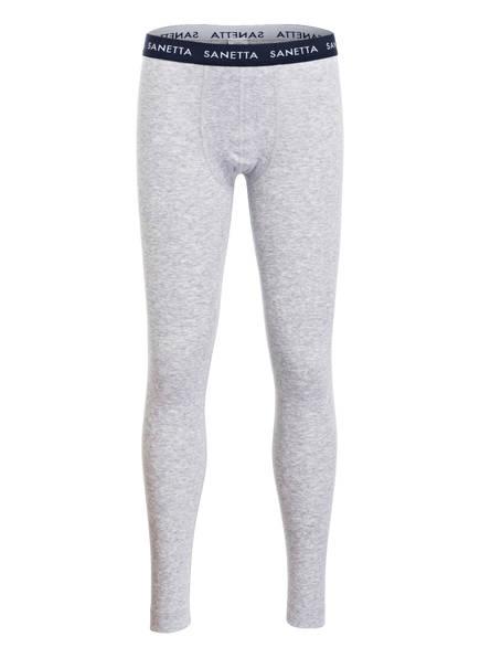Sanetta Lange Unterhose, Farbe: HELLGRAU MELIERT (Bild 1)