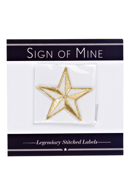 SIGN OF MINE Patch STAR