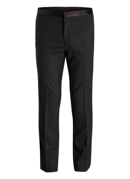 HUGO Smoking-Hose HETON S Extra Slim Fit, Farbe: 001 BLACK (Bild 1)