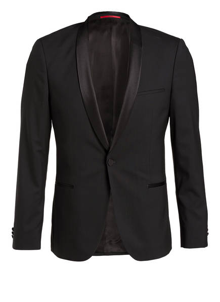HUGO Smoking-Sakko ALSTON S Slim Fit, Farbe: 001 BLACK (Bild 1)