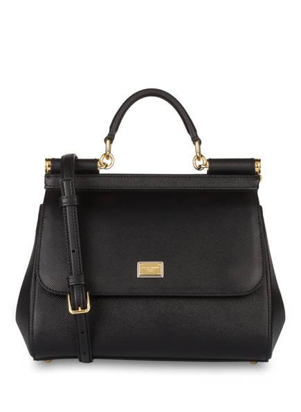 DOLCE&GABBANA Handtasche MISS SICILY MEDIUM, Farbe: SCHWARZ (Bild 1)