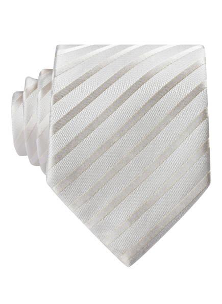 PAUL Krawatte , Farbe: CREME GESTREIFT (Bild 1)