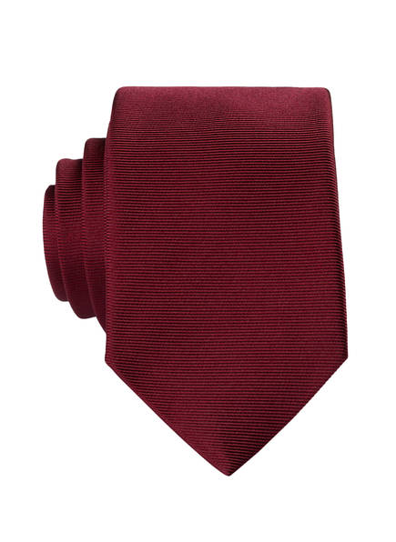 PAUL Krawatte , Farbe: DUNKELROT (Bild 1)