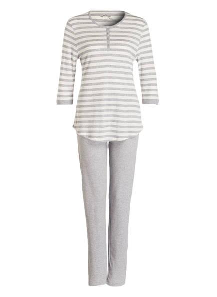 mey Schlafanzug, Farbe: HELLGRAU/ ECRU (Bild 1)