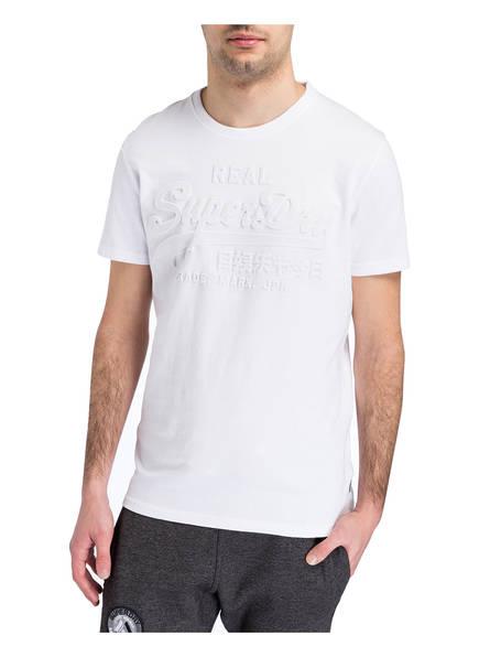 Superdry T-Shirt mit monochromem Prägedruck