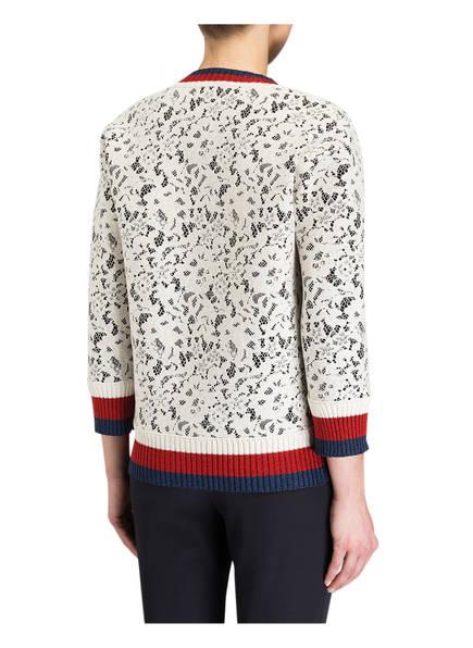 GUCCI Sweatshirt mit Spitzenbesatz