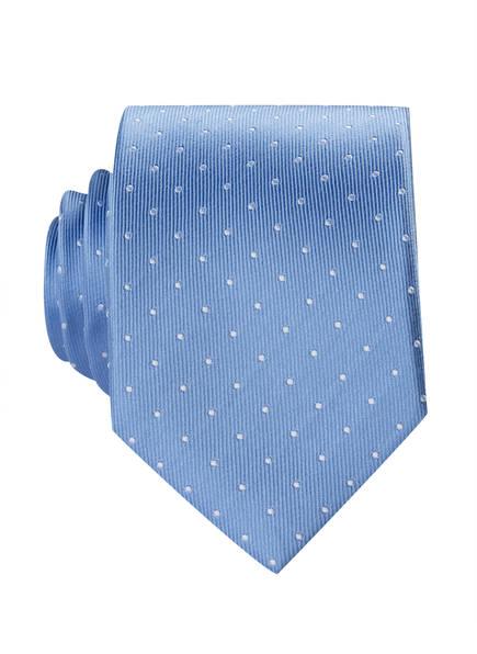 OLYMP Krawatte, Farbe: HELLBLAU/ WEISS GEPUNKTET (Bild 1)