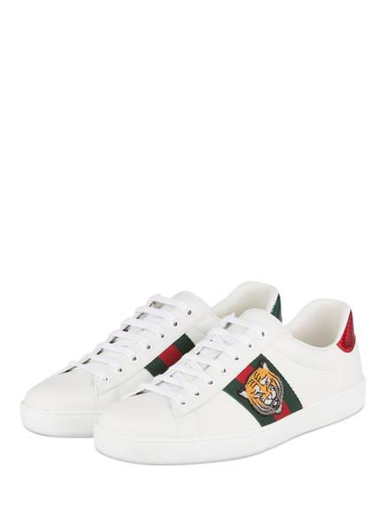 GUCCI Sneaker ACE, Farbe: WHITE MULTI (Bild 1)
