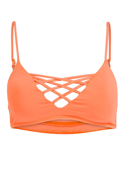 L*SPACE by monica wise Bustier-Bikini-Top JAIME, Farbe: ORANGE (Bild 1)