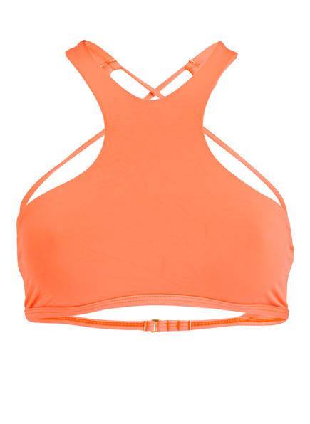 L*SPACE by monica wise High-Neck-Bikini-Top HAUTE TANK, Farbe: ORANGE (Bild 1)