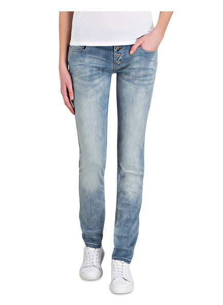 COCCARA Skinny-Jeans CURLY BUTTON