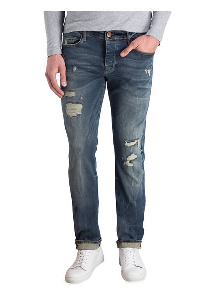 TRUE RELIGION Destroyed-Jeans ROCCO Relaxed Skinny-Fit