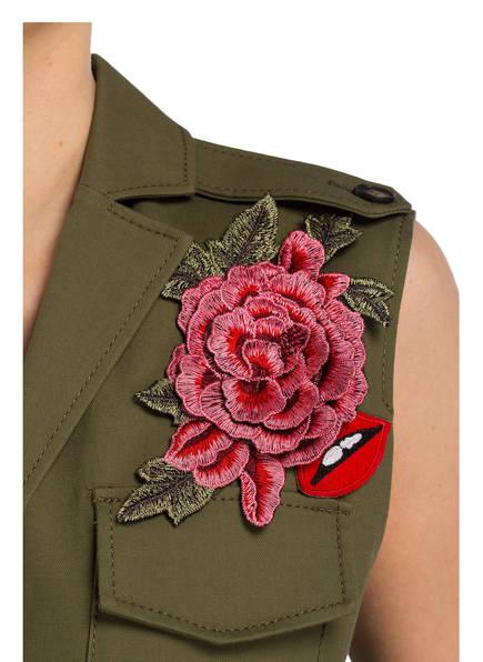 SET Blusenkleid mit Patches
