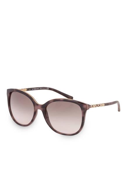 BURBERRY Burberry Damen Sonnenbrille » BE4237«, braun, 36243B - braun/ grau