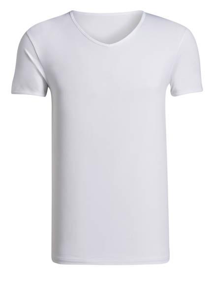 mey V-Shirt Serie SOFTWARE, Farbe: WEISS (Bild 1)