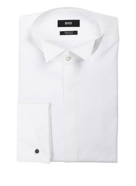 BOSS Hemd GEWEN Regular Fit mit Umschlagmanschette, Farbe: WEISS (Bild 1)
