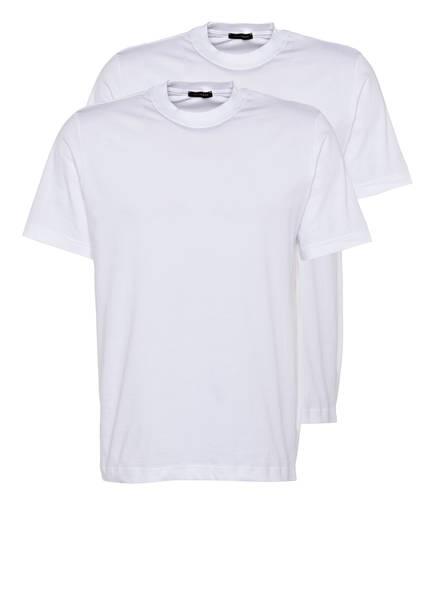 SCHIESSER 2er-Pack T-Shirts, Farbe: WEISS (Bild 1)