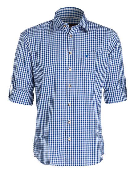 KRÜGER Trachtenhemd , Farbe: WEISS/ BLAU KARIERT (Bild 1)