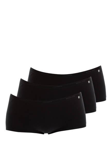 SCHIESSER 3er-Pack Panties 95/5, Farbe: SCHWARZ (Bild 1)