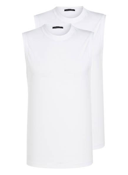 SCHIESSER 2er-Pack Unterhemden, Farbe: WEISS (Bild 1)