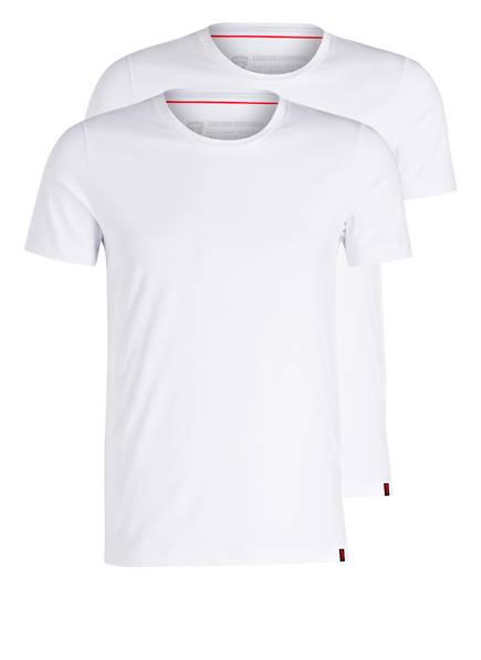strellson 2er-Pack T-Shirts, Farbe: WEISS (Bild 1)