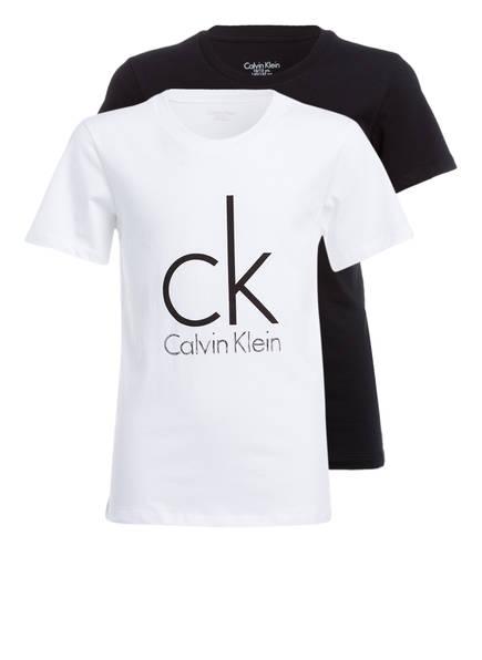 Calvin Klein 2er-Pack T-Shirts, Farbe: SCHWARZ/ WEISS (Bild 1)