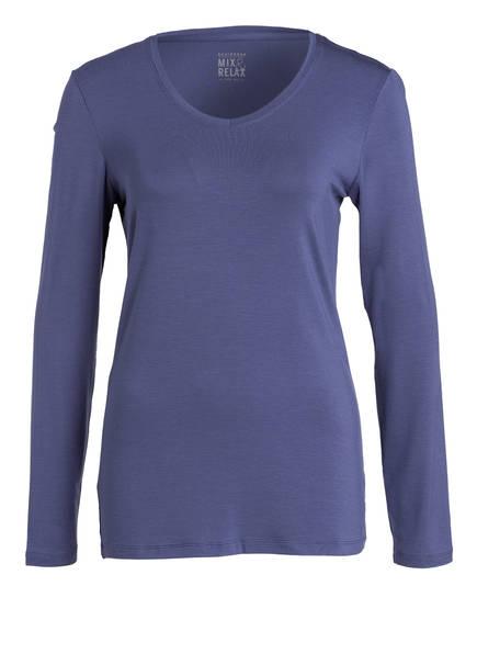 SCHIESSER Loungeshirt, Farbe: DUNKELBLAU (Bild 1)