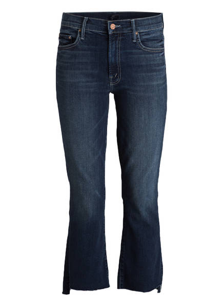 MOTHER 7/8-Jeans INSIDER CROP STEP FRAY