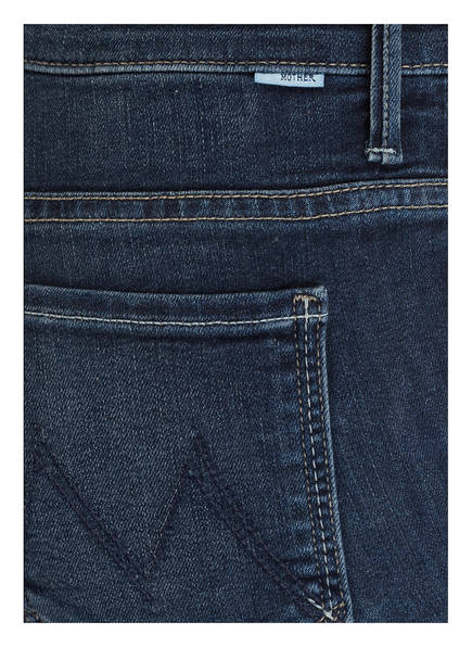 MOTHER 7/8-Jeans INSIDER CROP STEP FRAY