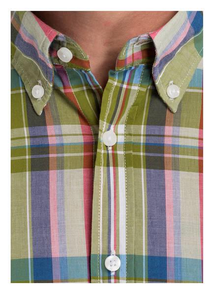 Rosa Strokesman's Blau Grün Fit Hemd Modern HnnPvfA