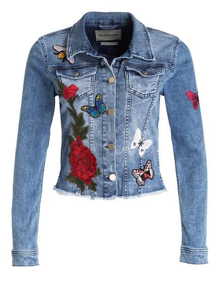 jeansjacke mit patches von rich royal bei breuninger kaufen