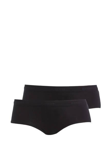 SCHIESSER 2er-Pack Panties, Farbe: SCHWARZ (Bild 1)