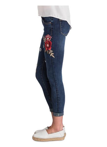 7 8 jeans mit patches von cartoon bei breuninger kaufen. Black Bedroom Furniture Sets. Home Design Ideas