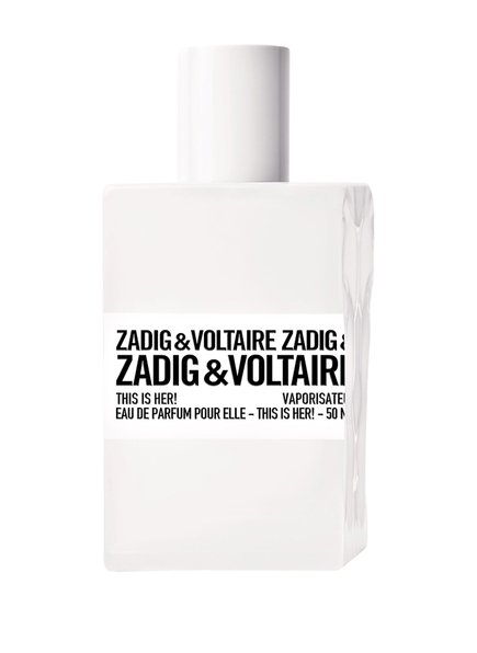 ZADIG & VOLTAIRE FRAGRANCES THIS IS HER! (Bild 1)