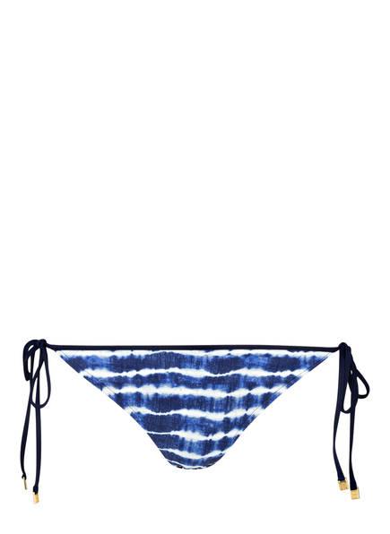 TORY BURCH Bikini-Hose TIE DYE, Farbe: NAVY/ WEISS (Bild 1)
