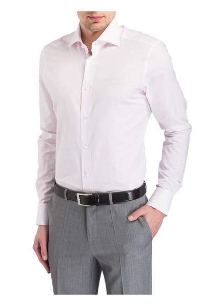 Ermenegildo Zegna Hemd Custom-Fit mit Leinenanteil