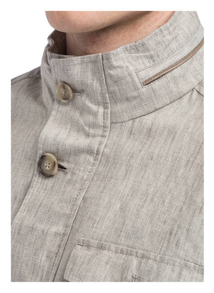 HACKETT LONDON Fieldjacket aus Leinen