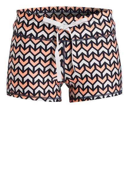 THE UPSIDE Shorts GEO SPEECHLESS, Farbe: KORALLE/ BEIGE/ SCHWARZ (Bild 1)