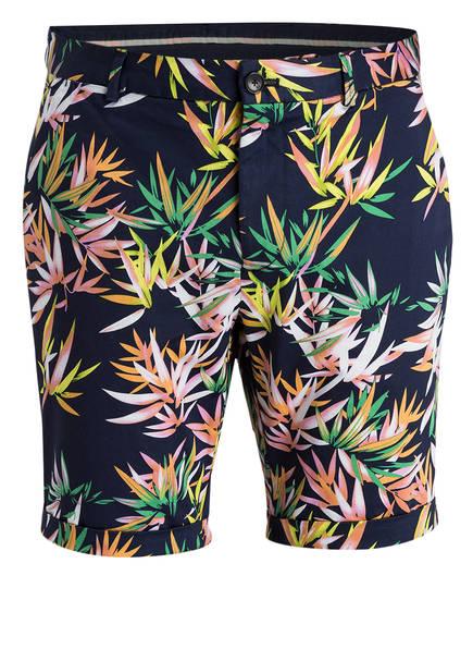 SCOTCH & SODA Shorts, Farbe: DUNKELBLAU/ GELB/ GRÜN (Bild 1)