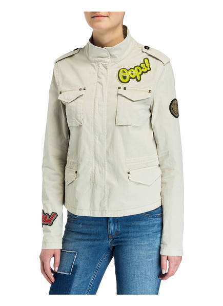 BLONDE No.8 Jacke mit Patches