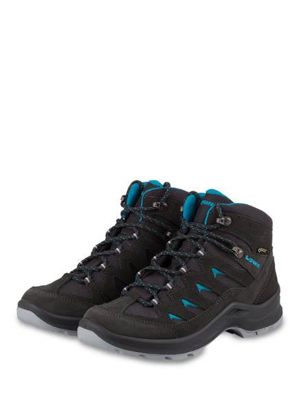 LOWA Outdoor-Schuhe LIVANTE GTX QC, Farbe: ANTHRAZIT/ TÜRKIS (Bild 1)
