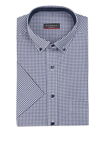ETERNA Halbarm-Hemd Modern Fit, Farbe: NAVY/ WEISS KARIERT (Bild 1)