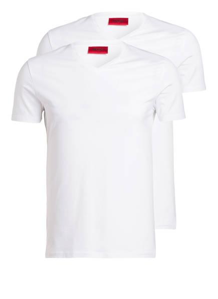 HUGO 2er-Pack V-Shirts , Farbe: WEISS (Bild 1)