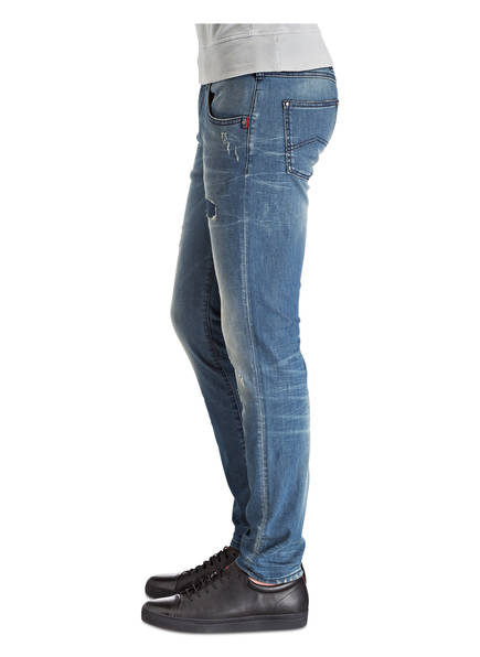 ARMANI JEANS Destroyed-Jeans Skinny-Fit