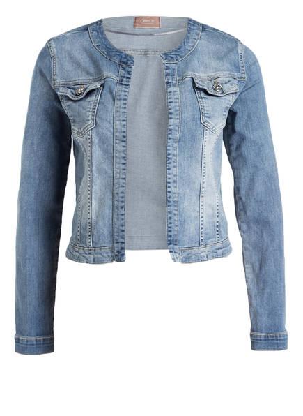 Jeansjacke ohne kragen jeansjacke ohne kragen gas adeline w598 ebay damen jeansjacke ohne - Schwarze jeansjacke damen ...