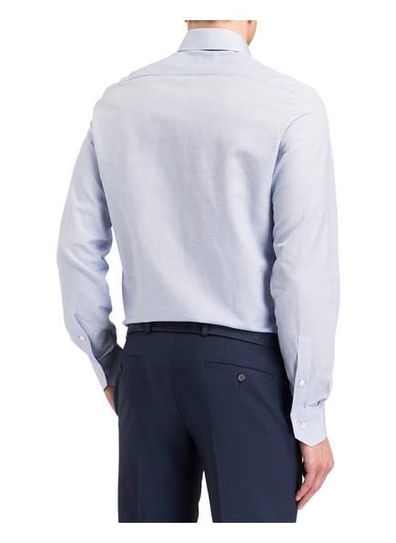 Ermenegildo Zegna Hemd Slim-Fit mit Leinenanteil