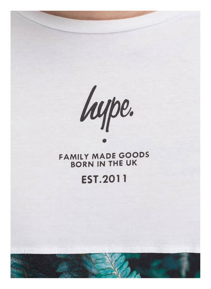 hype T-Shirt MUDED FERN