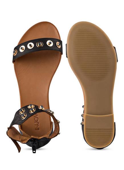 INUOVO Sandalen mit Nietenbesatz